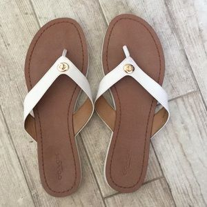 Coach Leather Flip Flop